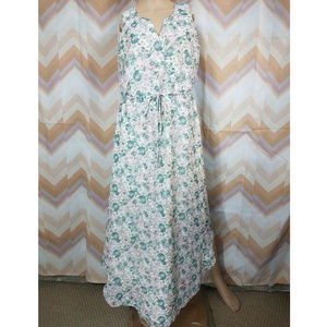 LC LAUREN CONRAD floral sleeveless dress